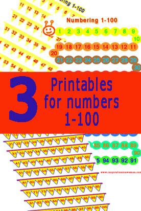 εκτυπώσημα με αριθμούς