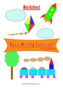 writing exercises for preschoolers